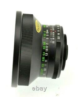 Vivitar 20mm f/3.8 Lens for M42 Screw Mount Excellent Condition with Case