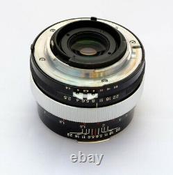 Voigtlander Color Heliar SL 75mm f/2.5 lens rare Nikon F mount immaculate