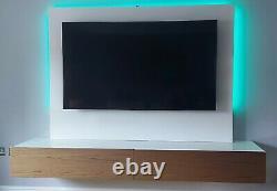 Wall mounted tv unit &backboard
