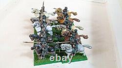 Warhammer Fantasy Bretonnian Mounted Yeomen Squires Metal OOP
