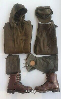 Yugoslavian People's Army Uniform Mountain Units Set M 87 JNA SFRJ Yugoslavia