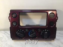 07 08 09 10 Toyota Fj Cruiser Ac Temp Heater Climate Control Dash Panel Oem