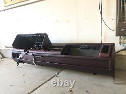 1988-1994 Gmc Chevy Truck Dash Core Red 89 90 91 92 94