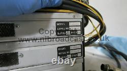 3x Cove Rack De Diffusion Montage Caméra Fibre Optique Unités, 1x Camera Data Back
