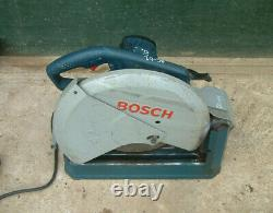 Bosch Gco 2000 Cut-off Grinder Professionnel En Métal / Banc De Scie À Chop 355mm