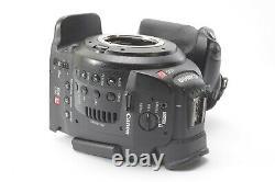 Canon C100 Cinema Camcorder Caméra Ef Mount Avec Daf, Chargeur Et Batterie