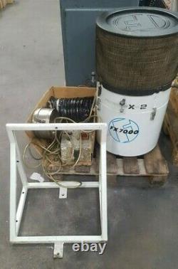 Filtermist Fx7000 Unité D'extraction D'huile Mist Avec Support De Montage