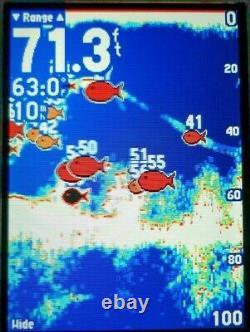 Garmin Gpsmap 498 Color Cart Plotter Fish Finder Unité Gps W Mount & Cover