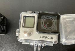 Gopro Hero4 Caméscope Noir Plus 4 Batteries Twin Charger Montage Accessoires