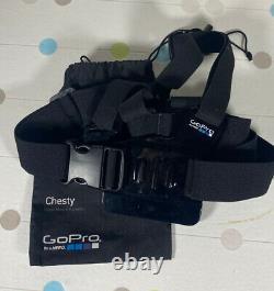 Gopro Hero 3 + Black Edition Bundle Avec Monture De Poitrine Et Accessoires De Travail