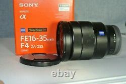 Lentille De Montage Sony Fe16-35mm F4 Za Oss Sony E (sel1625z)
