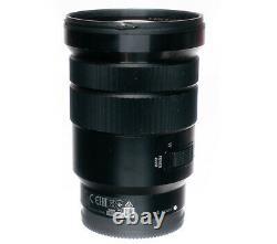 Lentille Sony Pz 18-105mm G Oss F4 Zoom S'adapte Au Montage Sony E + Bouchons Arrière Avant