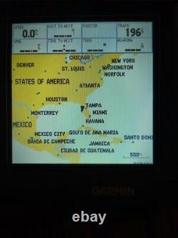 Mint Garmin Gpsmap 172c Unite, Couverture, Mount, Power/data Cable Et Livre