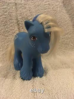 My Little Pony G1 Tornado Mountain Boy Uk Exclusivité 1987 Hasbro Rare