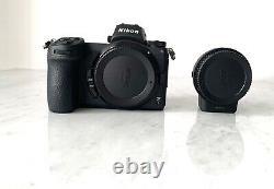 Nikon Z7 Mirrorless Digital Camera Avec Kit D'adaptateur De Montage Ftz Avec Boîte