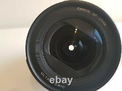 Objectif Canon Ef 20-35mm F/3.5-4.5 Usm Pour Montage Canon Ef/ef-s
