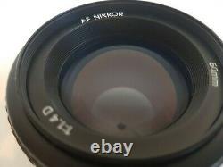 Objectif Nikon Af 50mm F/1.4d Pour Montage Nikon F