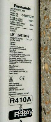 Panasonic Climatisation Cs-te60tkew Unité Murale Intérieure 2017 Utilisée