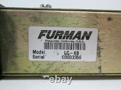 Rack Mount Furman Lc-6 Compresseur Stéréo / Gate 2-ch Fx Effects Unit Lc-6b