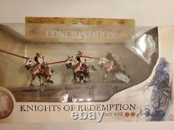 Rackham Confrontation Griffin 3 Chevaliers À Cheval De L'unité De Cavalerie De Rédemption Boîte