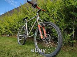Rétro Sur Mesure Orange E3 Mountain Bike Build 1994 + Bomber Z1 Fourches