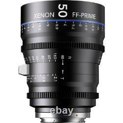 Schneider Xénon Ff 50mm T2.1 Lens Avec Canon Ef Mount