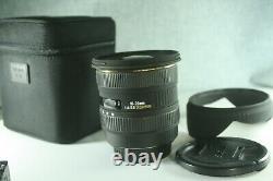 Sigma 10-20mm F/4-5.6 Ex Hsm DC Lens Canon Ef-s Mount