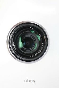 Sony 55-210mm Telephoto Lens F4.5-6.3 Oss Pour Sony E-mount, Sel55210, V. G. Cond
