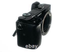 Sony Alpha 6300 Ilce-6300 24.2mp E-mount Aps-c Mirrorless Camera A6300 +2 Batte