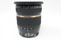 Tamron 10-24mm F3.5-4.5 Lens Sp Di-ii If Af Pour Sony A-mount, Très Bon Cond