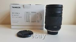 Tamron 18-400mm F/3.5-6.3 DI II VC Hld, Montage Nikon F Avec Boîte D'origine