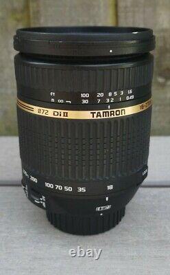 Tamron Af 18-270mm F/3.5-6.3 DI II VC Macro Asphérique, Monture Nikon F