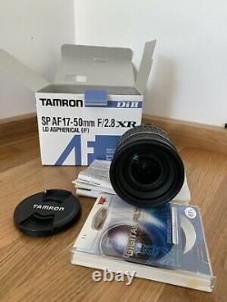 Tamron Sp Af 17 50mm F2.8 Xr Nikon F Mont Avec Moteur Intégré