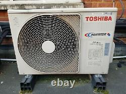 Toshiba Wall Mounted Kw Heat & Cool Complete Air Con Systems Avec Télécommande