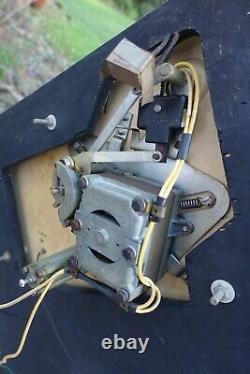Vintage Collaro 4tr. 200 Transcription Unité 4 Vitesse Et 2 Tones Montées