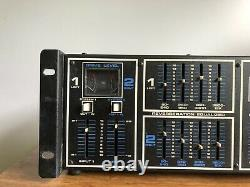 Vintage Tapco 4400 Système De Réverbération De Ressort Unité De Montage De Rack