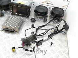 Volkswagen Scirocco Mk3 1k8 Dynaudio Speaker System Inc Amp / Unité De Tête