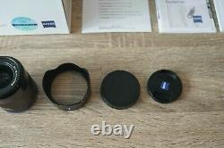 Zeiss Loxia 25mm Sony E Fe Mount Lens F2.4 F/2.4 Large Angle Alpha A7 Menthe